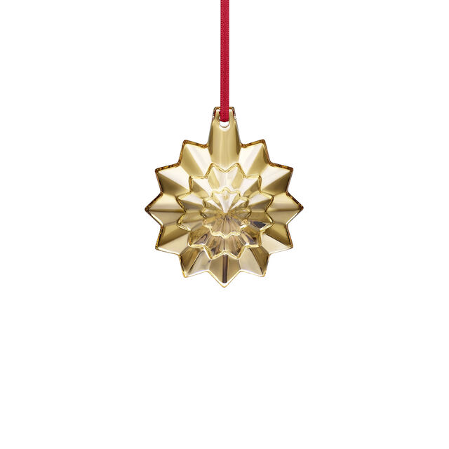 CHRISTMAS ANNUAL ORNAMENT ENGRAVED NOËL 2019, Gold