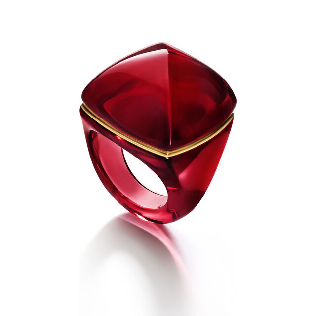 LA BAGUE POP, Rouge