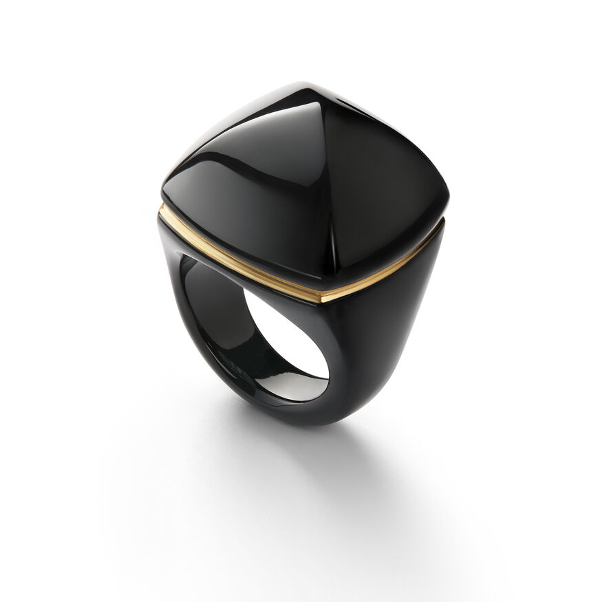 LA BAGUE POP, Black - 1