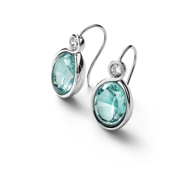 Croisé Earrings turquoise silver