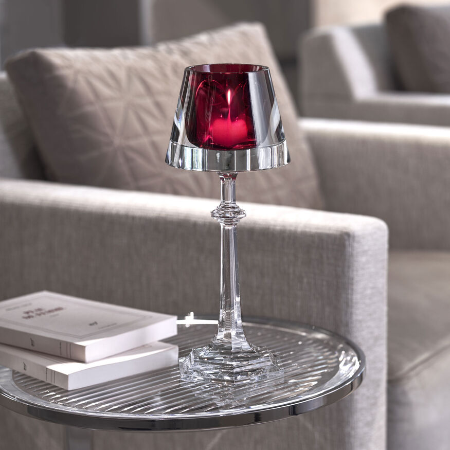 HARCOURT MY FIRE CANDLESTICK RED,  - 2