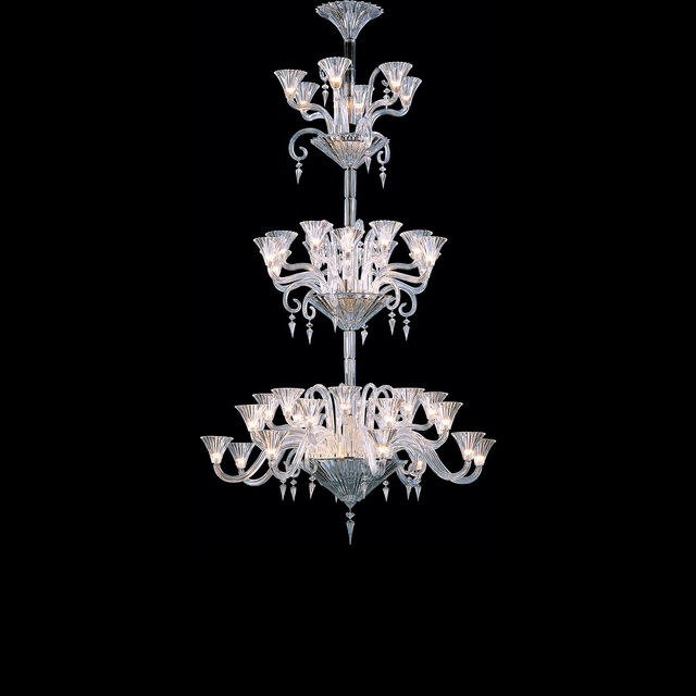 MILLE NUITS CHANDELIER, Clear