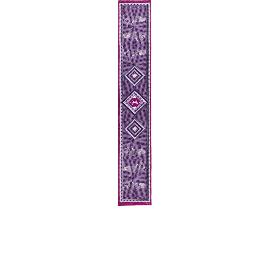 LOUXOR SILK MAXI TIE, Purple